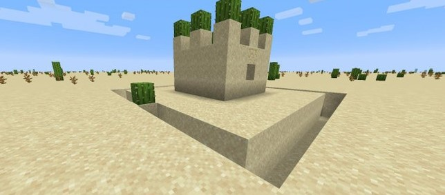How To Survive Starting Out In The Desert Biome In Minecraft