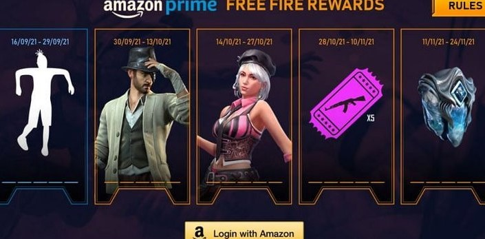 Get A Free Wiggle Walk Emote From Amazon Prime In Free Fire